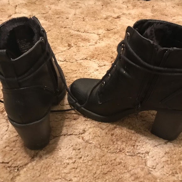 JustFab Shoes - Black 90 s inspired winter booties 63f11daf2